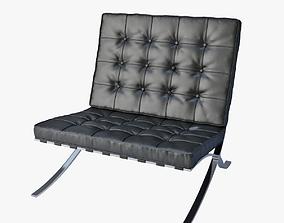 my 3D model Barcelona chair Knoll