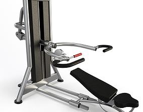 3D Gym Chest Press