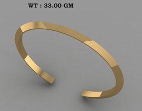 North Skull Copy solid bracelet for men 3D printable model