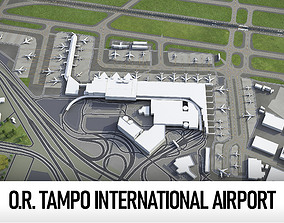 Johannesburg OR Tambo International Airport 3D asset