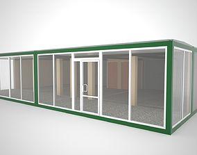 3D model Auto showroom modular