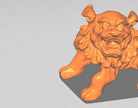 Chinese Lion 3D print model figurines
