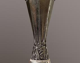 3D asset The UEFA Europa League cup