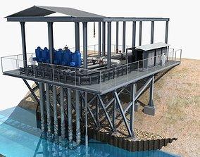 Agricultural Pumping Station model 3D