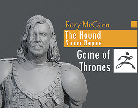 Rory McCann - Sandor Clegane - The Hound 3D print model 3