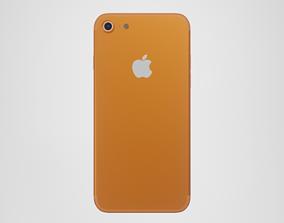 3D asset iPhone 7 - Orange