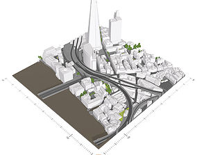Free 3D Model of London - Sample of AccuCities Level 2