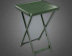 3D model Military Table 02 - MLT - PBR Game Ready