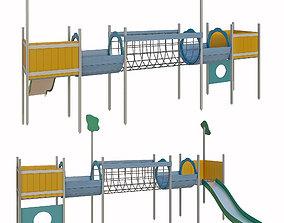 Childrens play complex 3D