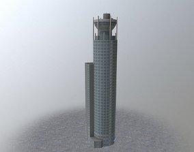 Moscow Red Hills 3D asset