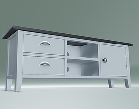 3D asset game-ready Marley Large TV unit