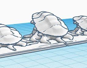 3D printable model Kings of war Gigas Regt
