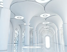 Classic Interior Scene 6 3D