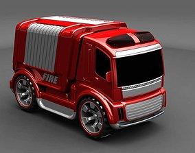 3D print model firetruck toys