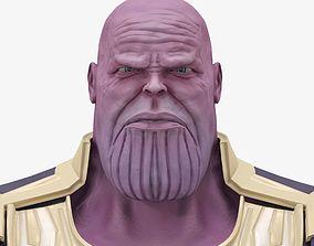 game-ready Thanos 3d model