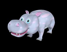 3D asset Hippo Model