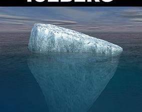 Tabular Iceberg 3D model