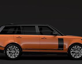 3D Range Rover HSE Td6 LWB L405 2018