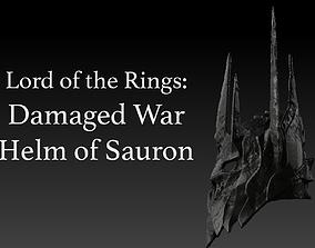 Saurons War Helm Scale Replica Model