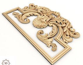 Decor 31 - For CNC and Interior 3D model decoration