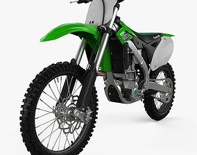 3D Kawasaki KX250F 2016