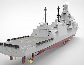 3D model Frigate Type 0