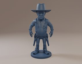 Donald Trump Cowboy 3D printable model