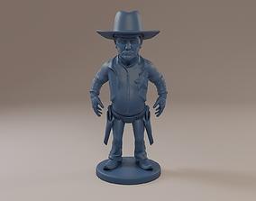 Donald Trump Cowboy 3D printable model