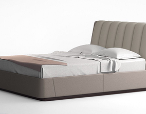 3D Holly Hunt Angelika Bed