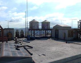 Rooftop 3D asset