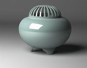 Incense burner KORO 3D model