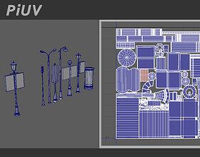 3D PiUV - Auto UV for Maya