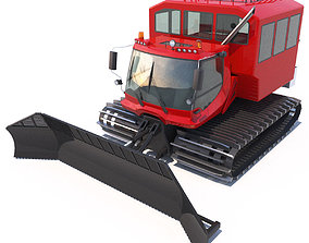 3D PistenBully 600 with passengers cab