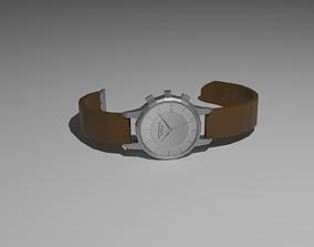 3D model Wristclock lowpoly