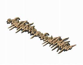 Desert - Bone Fossils 3D model brazier