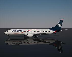 Aeromexico Boeing 737 MAX - 9 3D model