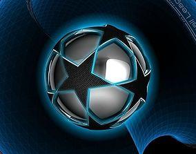 Glowing Ball II 3D asset