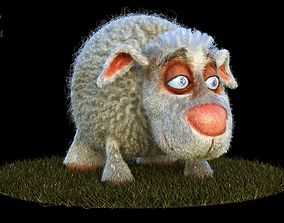 Sheep Dog for production render in Maya 2018 Arnold 3D