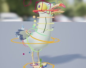 Seagull Rig - Unreal Control Rig 3D