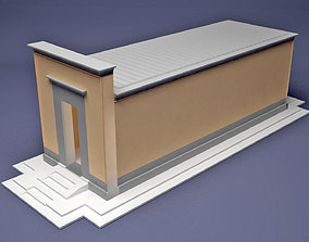 Egypt Temple Hatshepsut hapel 3D print model
