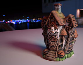 0002-09 Small Haunted House 3D model