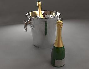 3D model Champagne bucket