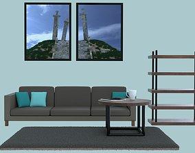 Furniture 3D rigged