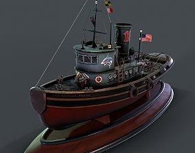 PBR Sea tug 3d model