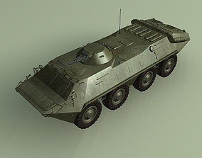 BTR70 Armored Personnel CarrierSoviet 3D model