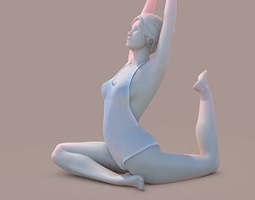 3D print model Woman Yoga 06
