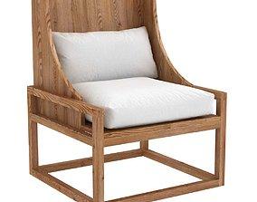 Botanik ALYS Wing Chair 3D