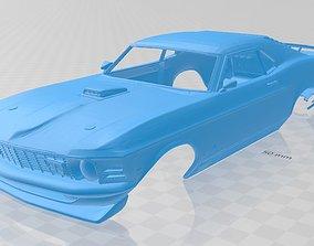 Mustang Mach 1 Printable Body Car