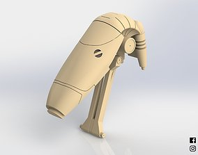 B1 Battle Droid Head Star Wars 3D printable model