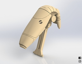 3D printable model B1 Battle Droid Head Star Wars